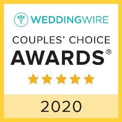 WeddingWire Couples' Choice Award Winner 2020